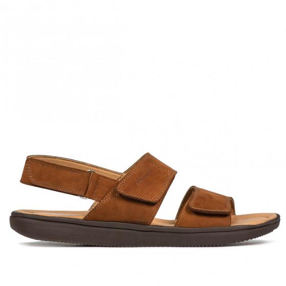 Men sandals 348 bufo brown