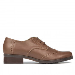 Pantofi casual dama 653 capucino