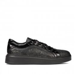 Pantofi casual/sport 6035 negru combinat