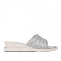 Women sandals 5074 bleu pearl
