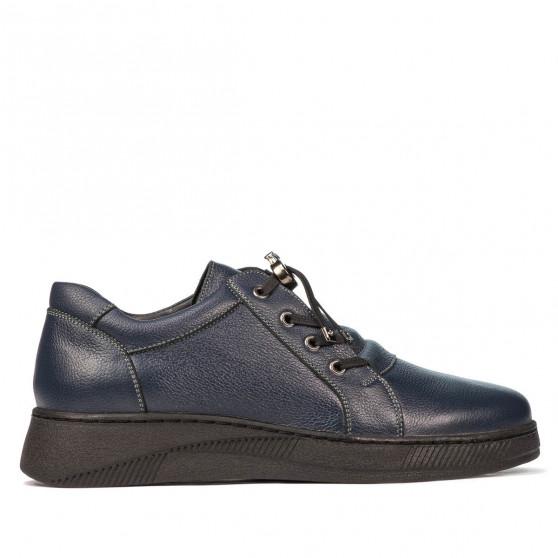 Teenagers stylish, elegant shoes 378 indigo