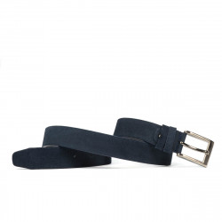 Children belt 01cl blue velour