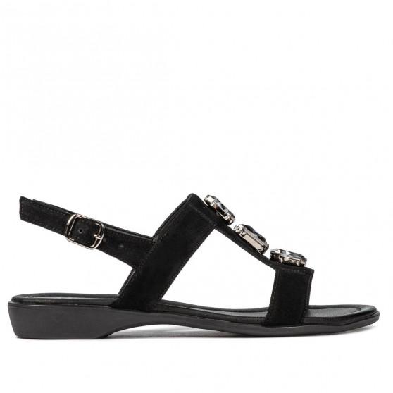 Sandale dama 5073 negru velur