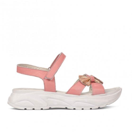 Children sandals 538 pink