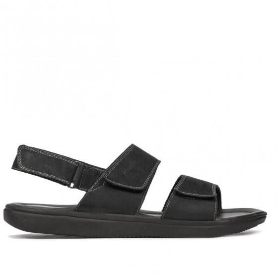 Sandale barbati 348 bufo antracit