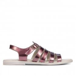 Women sandals 5077 purple pearl