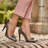 Pantofi eleganti dama 1279 argintiu sidef lifestyle
