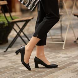 Women stylish, elegant shoes 1283 black