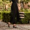 Sandale dama 1284 negru lifestyle