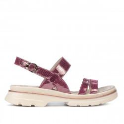Women sandals 5075 purple pearl
