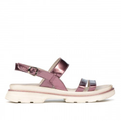Women sandals 5075-1 purple pearl
