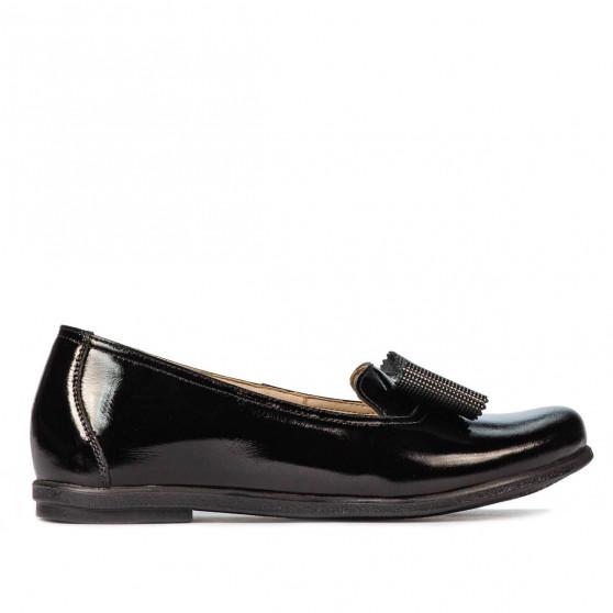 Pantofi copii 2008 lac negru