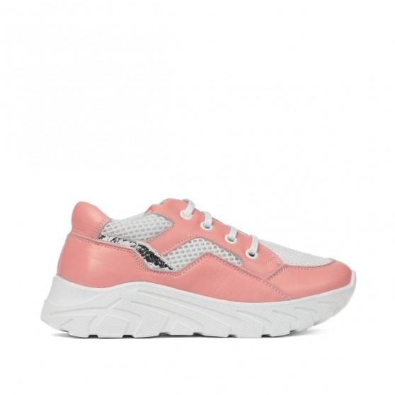 Pantofi copii 2007 roz combinat