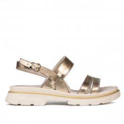 Women sandals 5075 golden