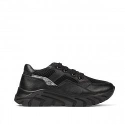 Pantofi copii 2007 negru combinat