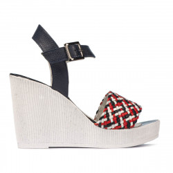 Women sandals 5080-1 indigo combined