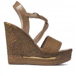 Women sandals 5079 cappuccino
