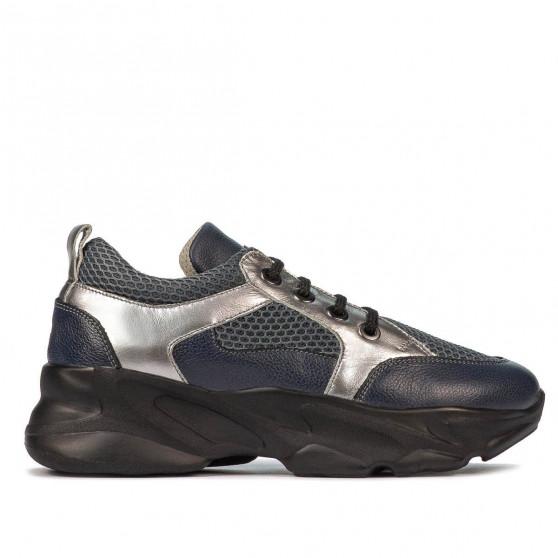 Pantofi sport dama 6038 indigo combinat