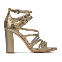 Women sandals 1287 golden