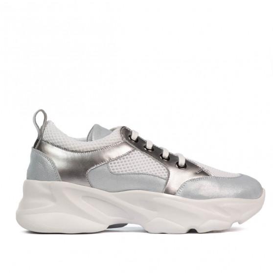 Pantofi sport dama 6038 bleu sidef combinat