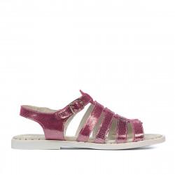 Women sandals 5077-1 purple pearl