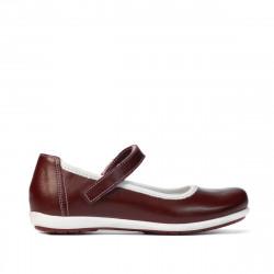 Children shoes 151-1 bordo