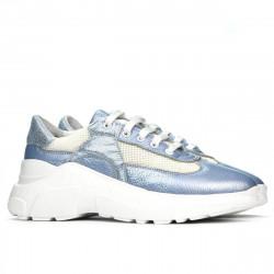 Women sport shoes 6015 bleu pearl combined