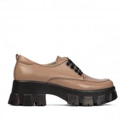 Pantofi casual dama 6040 capucino
