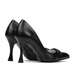 Women stylish, elegant shoes 1288 black