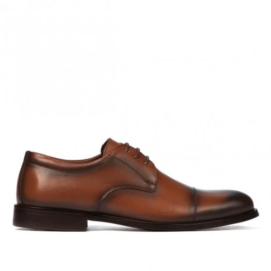 Men stylish, elegant shoes 930m a brown