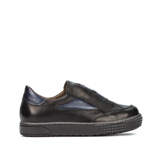 Pantofi copii mici 70-1c negru combinat