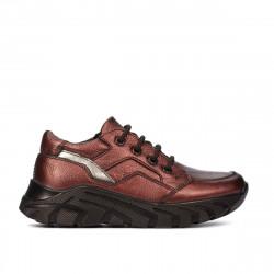 Small children shoes 72c bordo pearl