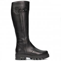 Women knee boots 3364 black