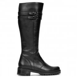Women knee boots 3363 black