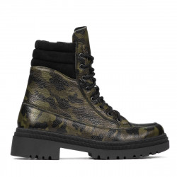 Women boots 3362 kaki camuflaj