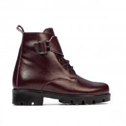 Small children boots 106c bordo