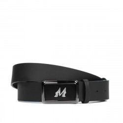 Men belt 38b black