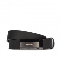 Men belt 52b black