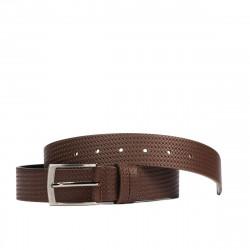 Men belt 53b brown presat