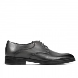 Men stylish, elegant shoes 933 a gray