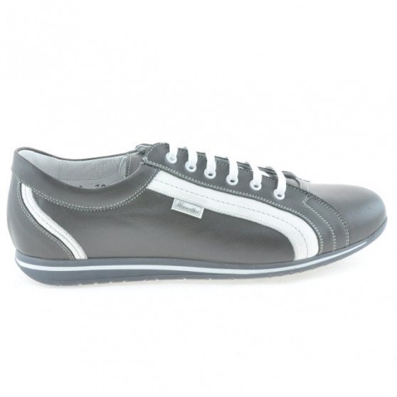Men sport shoes 709 gray+white