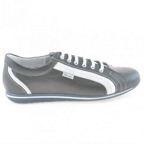Pantofi sport barbati 709 gri+alb