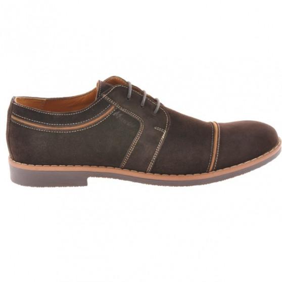Pantofi casual / eleganti barbati 749 cafe velur