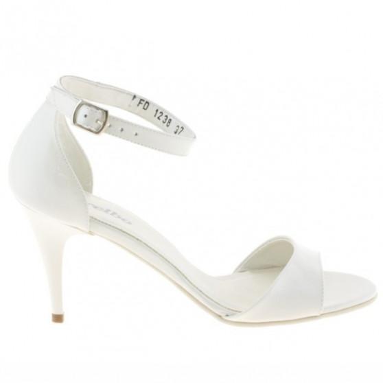 Sandale dama 1238-1 lac bej deschis