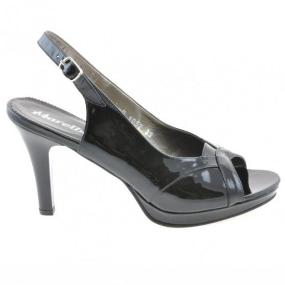 Sandale dama 1052 lac negru