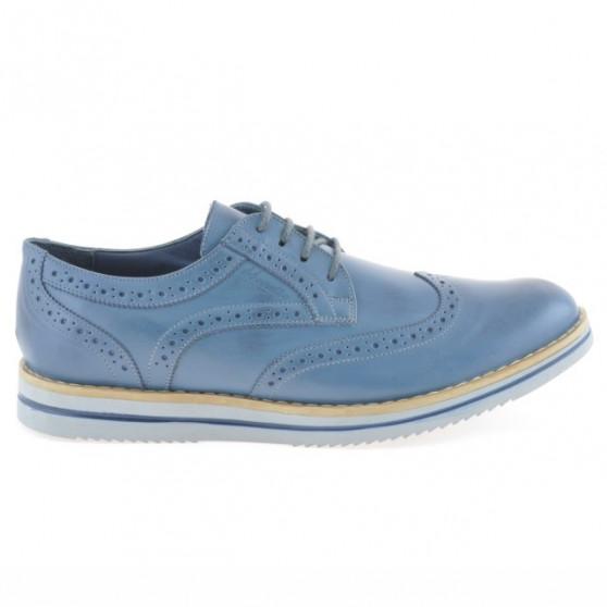 Men casual shoes 866 a indigo