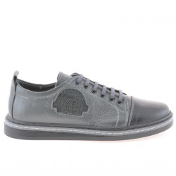 Teenagers stylish, elegant shoes 392 black+gray