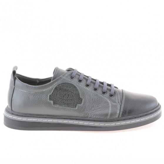 Pantofi sport adolescenti 392 negru+gri