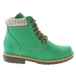 Children boots 3209 bufo green