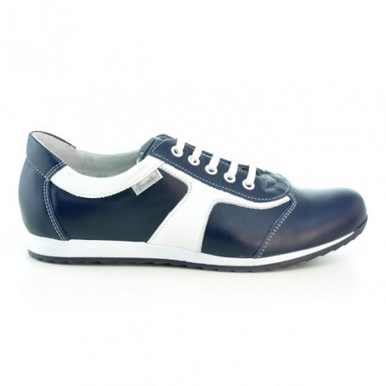 Pantofi sport dama 191 indigo+alb